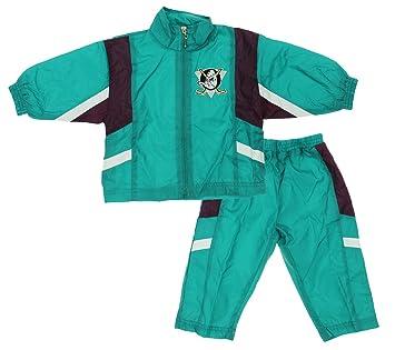 various colors e2ece 65de6 NHL Anaheim Mighty Ducks Baby Boys Infant 2 Piece Retro Wind Suit,  Teal-Maroon
