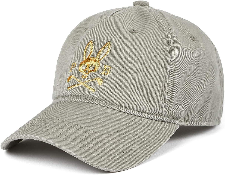 Psycho Bunny Mens Sports Baseball Cap Shark