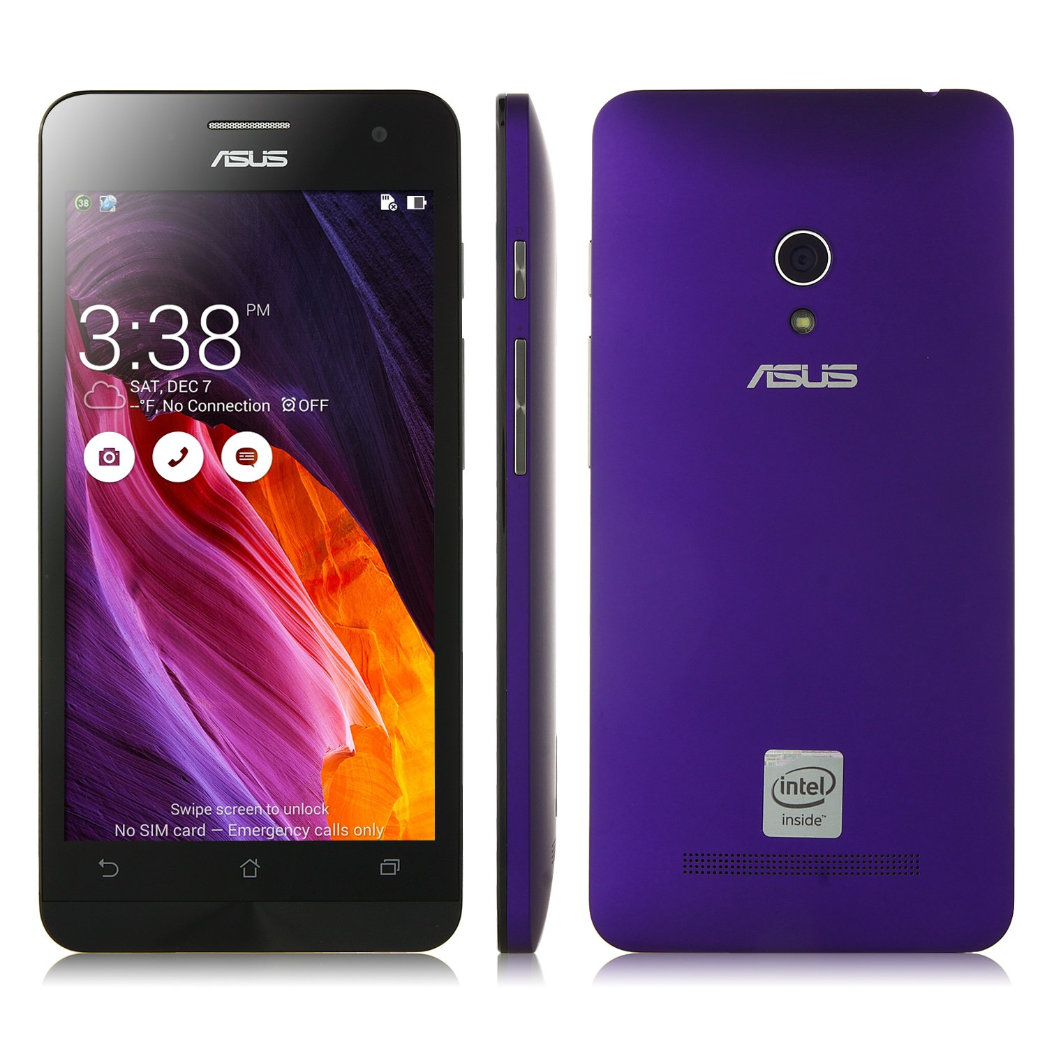 5.0 Pulgada ASUS Zenfone 5 Smartphone Android 4.3 Intel Atom Z2560 ...