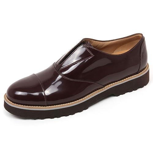 C8092 scarpa donna HOGAN H259 route elastico bordeaux shoe woman  40    Amazon.it  Scarpe e borse 3df41f06bdb