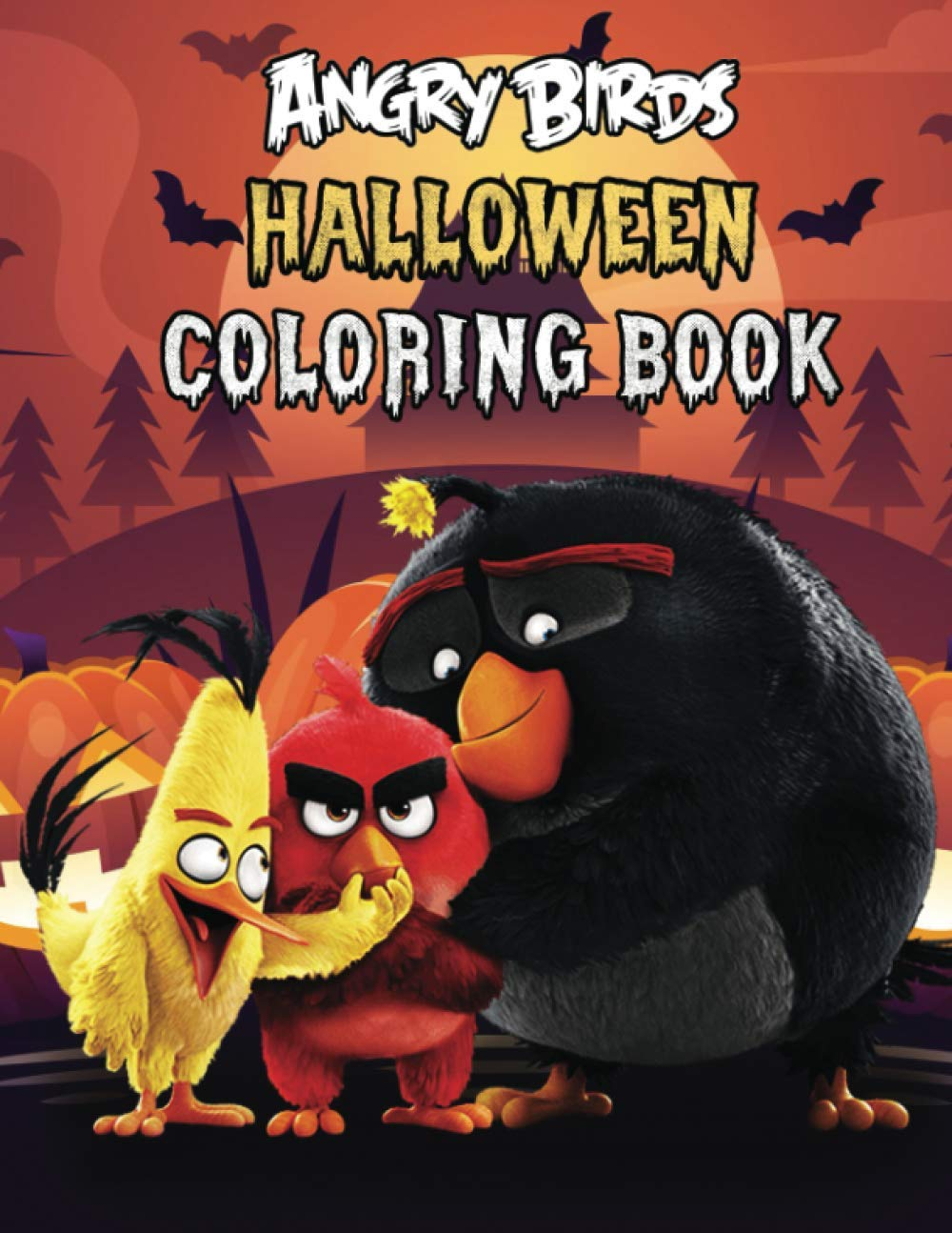 Angry Birds Halloween Coloring Book Super Halloween Gift For Kids And Fans Great Coloring Book With High Quality Images Costa Diego 9798698259428 Amazon Com Books