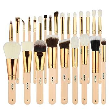 Amazon Com Beili Makeup Brushes 25 Pieces Natural Goat Hair
