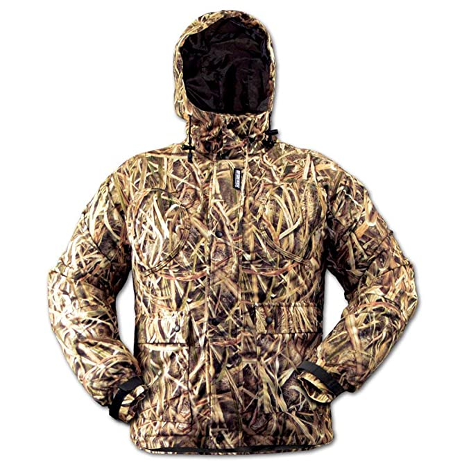 Stormkloth Mens Mossy Oak Shadow Grass Blades Camo Jacket Hunting Shooting