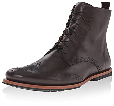 0ecabe1533d Timberland Men's Wingtip Boot, Grey, 10 M US: Amazon.co.uk: Shoes & Bags