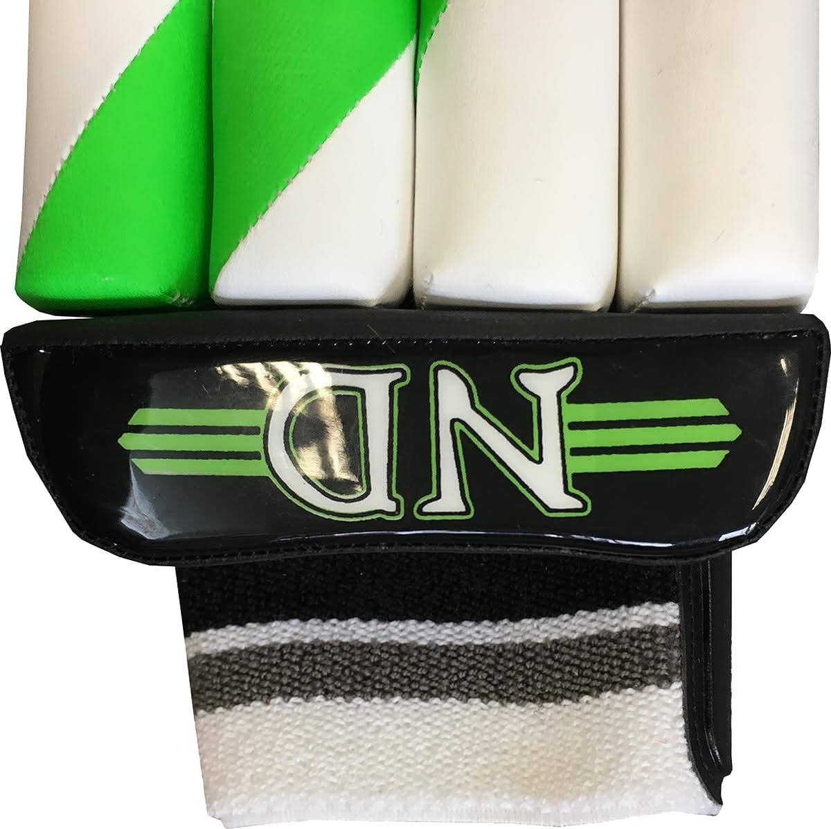 Only seulement de cricket ND de cricket Gants de baseball Uni Vert et blanc limit/ée Plus
