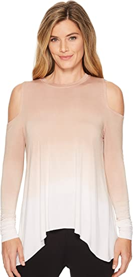 c4063d9bf1943 Hard Tail Womens Wrap Back Cold Shoulder Top at Amazon Women s ...
