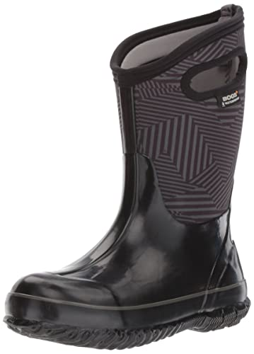 Bogs Baby Boys Classic Prints Waterproof Insulated Snow Boot Phaser Print BlackMulti