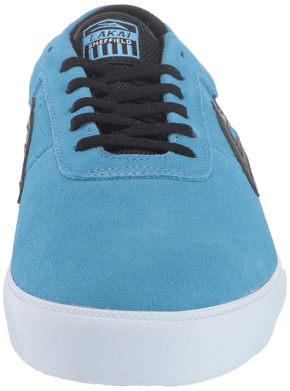 Light Blue//Black Suede Lakai Footwear Sheffield Simon Light Blue//Black Suedesize Tennis Shoe