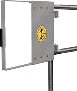 Fabenco G94-21 G-Series The Universal Hinge Mount Safety Gate, 316L Stainless Steel, 18-to-24-Inch x 22.5-Inch