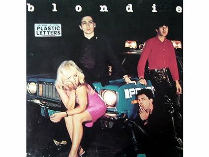 plastic letters vinyl lp record