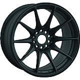 XXR 527 Flat Black (18x8.75) +35 (5x100/5x4.5)