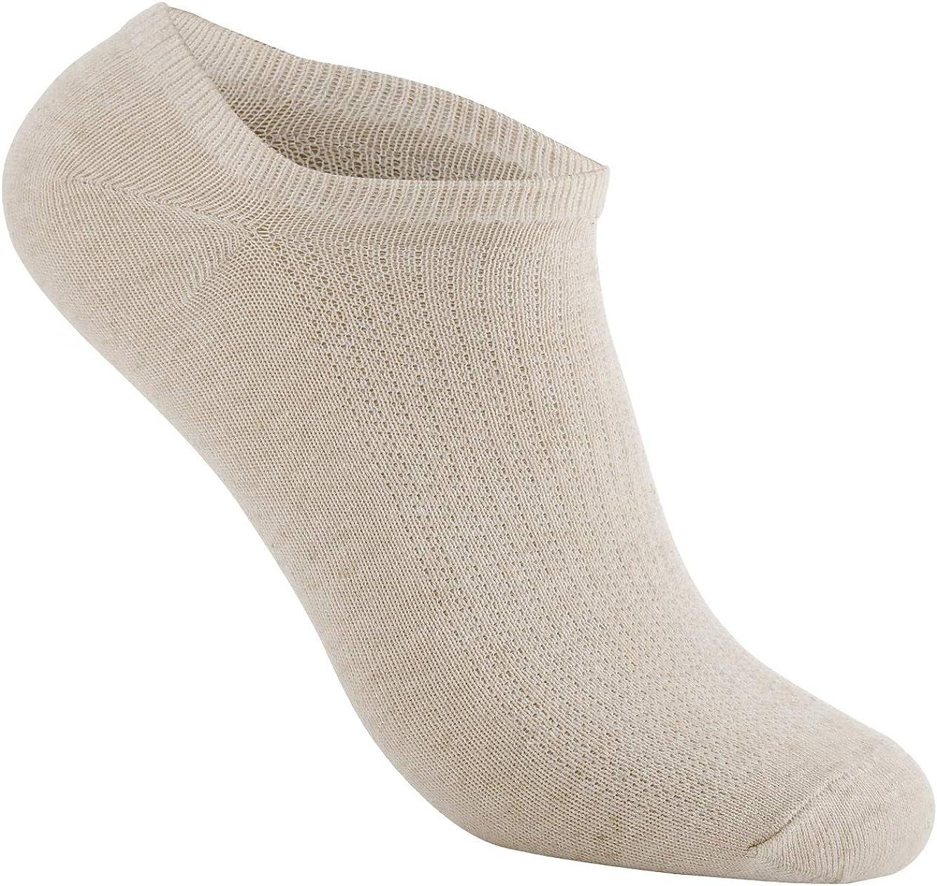 Hemp Socks for Men & Women – Athletic Comfort Low Cut Ankle Socks (Pack of 2 Unisex)