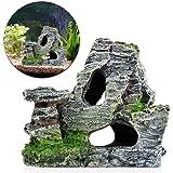 Rocita Mountain View Aquarium Steingarten Verstecken Höhle Baum Fisch Tank Ornament Dekoration 1Stück
