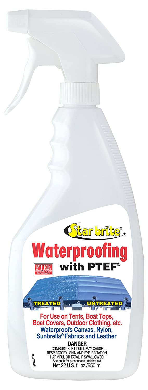 Amazon.com  Star brite Waterproofing With PTEF 1 Gallon  Boating Cleaners  Sports u0026 Outdoors  sc 1 st  Amazon.com & Amazon.com : Star brite Waterproofing With PTEF 1 Gallon : Boating ...