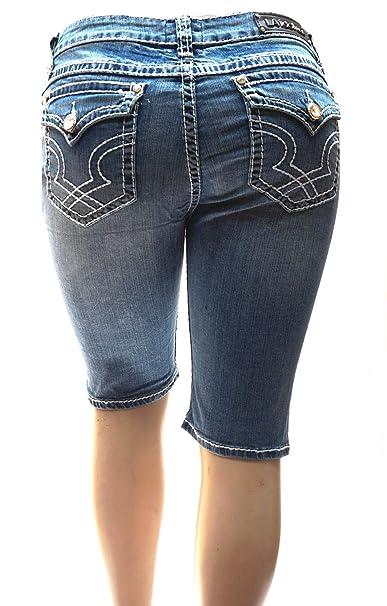 Amazon.com: LA Idol - Pantalones vaqueros para mujer, talla ...