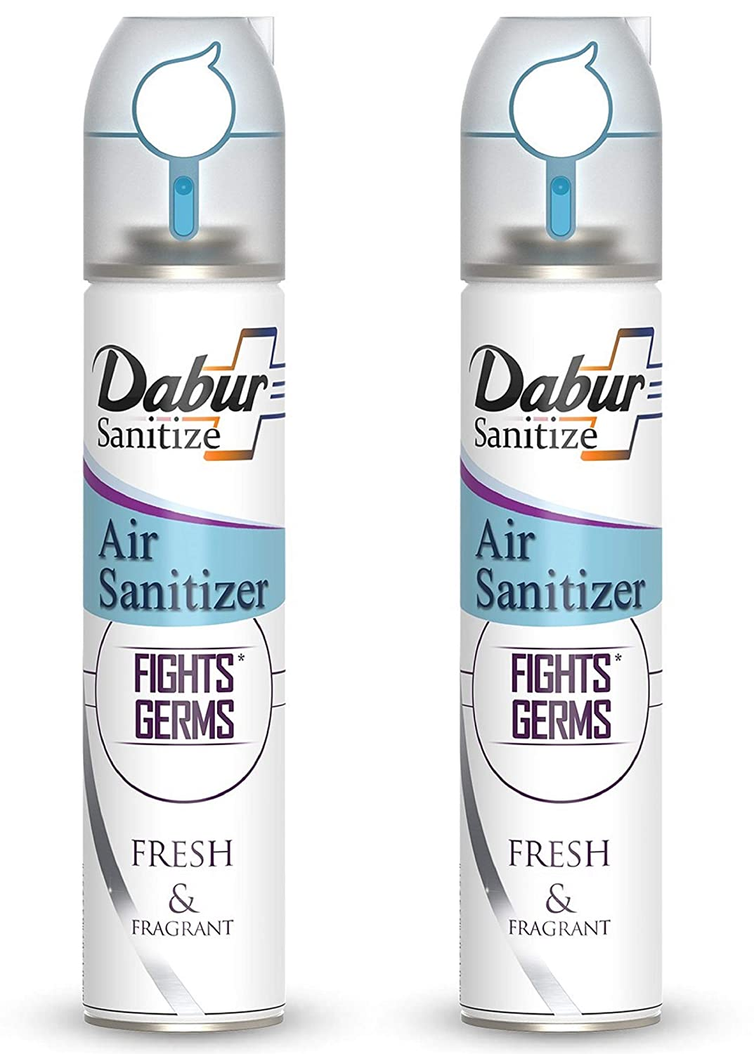Dabur Sanitize Air Sanitizer | Protects from Air Borne Germs – 240 ml (Pack of 2)