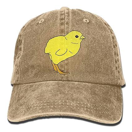 rongxincailiaoke Gorras béisbol Sports Denim Cap Baby Chick Women Golf Hats Polo Style Low Profile