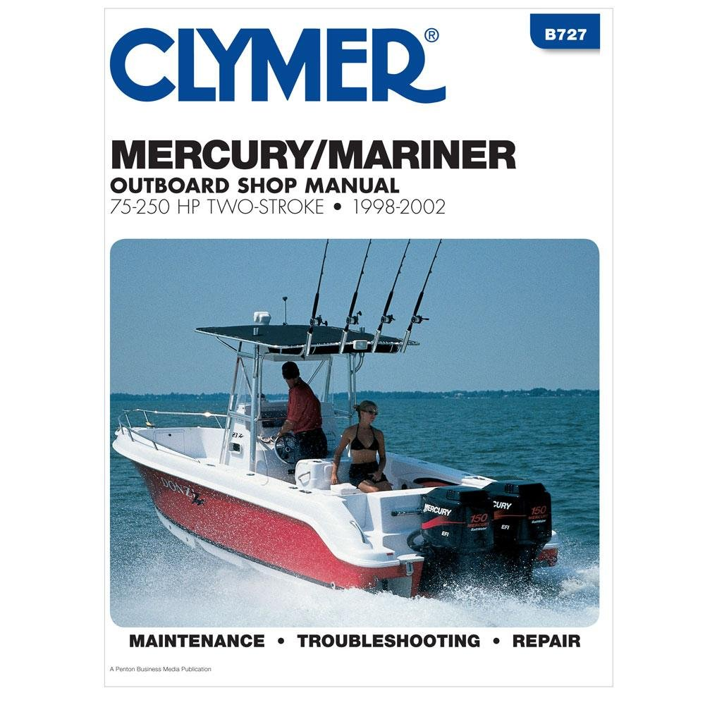 Amazon.com : CLYMER MERCURY/MARINER 2 STROKE OUTBOARD 75-250 HP 1998-2009 :  Sports & Outdoors