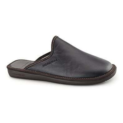 Nordikas - Zapatillas de Estar por casa para Hombre Negro Negro: Amazon.es: Zapatos y complementos