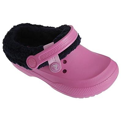 25c80af51 Crocs Blitzen II Kids Mules Slip On Shoes (6 Junior) (Pink)
