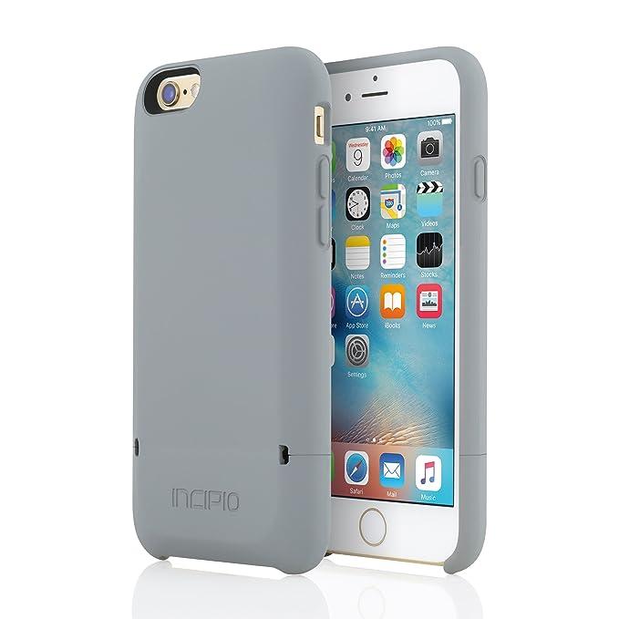 promo code 716eb 38d79 iPhone 6 Plus/iPhone 6s Plus Case, Incipio [Credit Card] [Protective]  Stashback Case for iPhone 6 Plus/iPhone 6s Plus-Gray