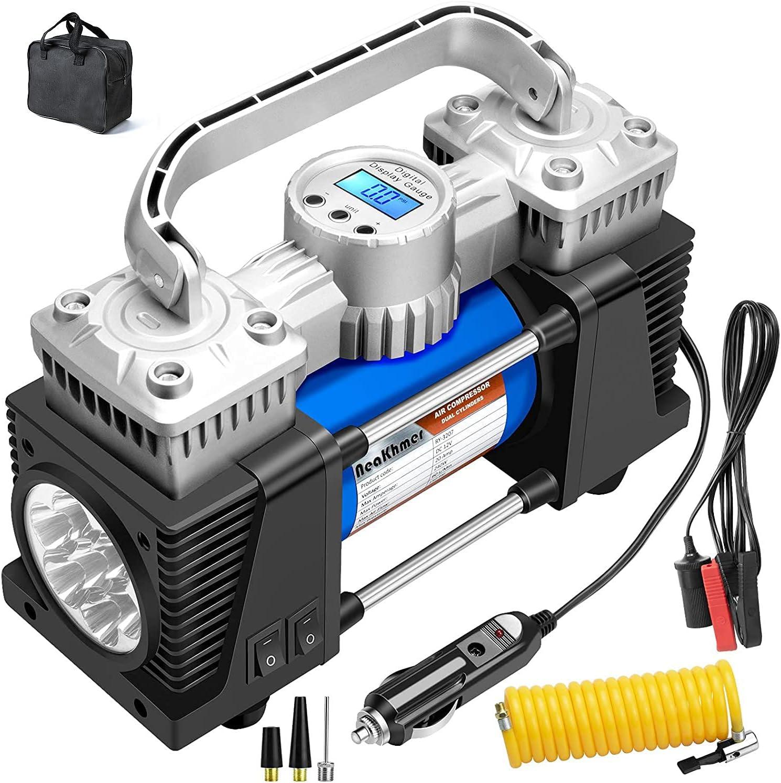 Neakhmer Digital Air Compressor Heavy Duty Air Inflator for RV SUV Trucks