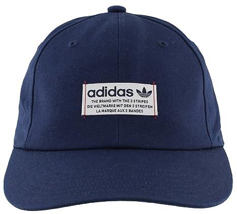 Adidas Originals del Hombre Relajado Base Strapback Gorra de béisbol, Hombre, Collegiate Navy/