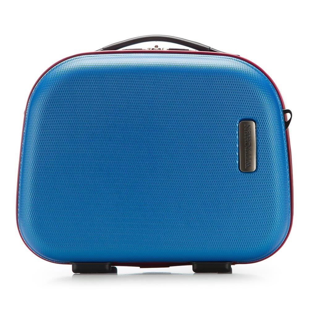 81x54x28cm 11 KG 56-3-61S-90 Material: ABS Blaue Marine 94 L Kollektion: ABS S-Line WITTCHEN Koffer-Set