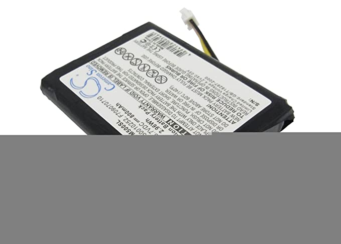 NEW Battery TomTom ONE 2nd 3rd 4th Edition v2 v3 v4 GPS 800mAh replacement tom