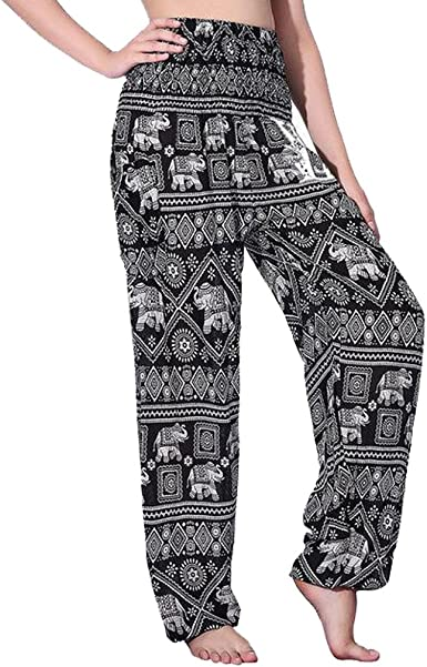 Butterflyhose Hammer Pants with Elephant One Size Pump Pants India Handmade