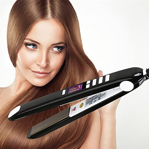 KIPOZI Flat Iron with Titanium Plate Hair Straightener