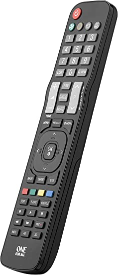 One For All URC1911 - Mando a distancia de reemplazo para Televisores LG – Control remoto universal para todo tipo de TVs de la marca LG: ONE FOR ALL: Amazon.es: Electrónica