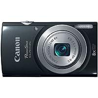 Canon PowerShot ELPH 135 IS 16MP 8X Optical Zoom Digital Camera - Black
