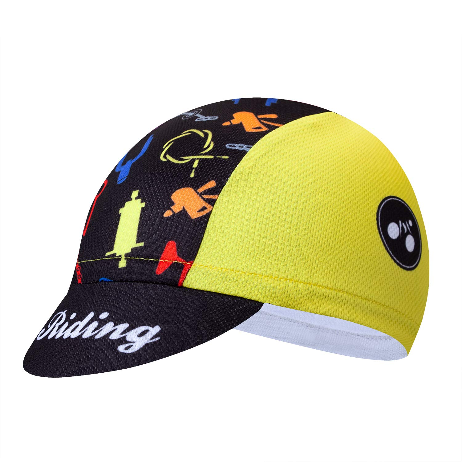 JPOJPO Cycling Cap Men Women Bike Hat Helmet Inside redorange