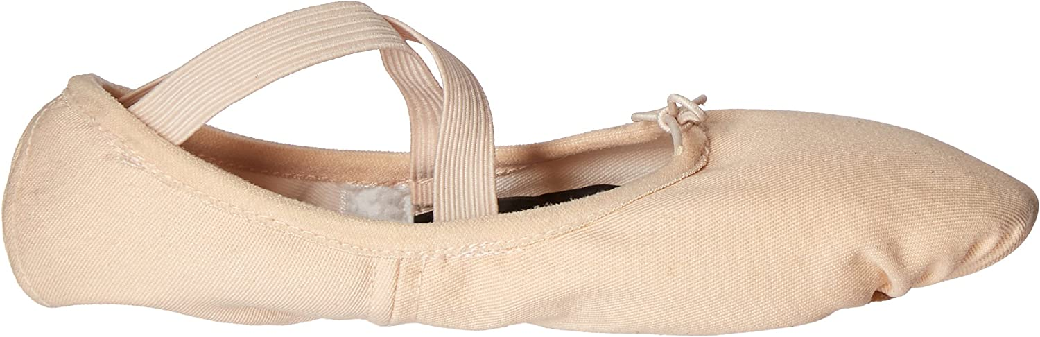 Body Wrappers 246A Childrens Wendy Canvas Ballet Slipper