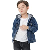 CaiDieNu Boys Girls Jean Jacket,Kids Denim Jacket,Kids Outerwear Jackets
