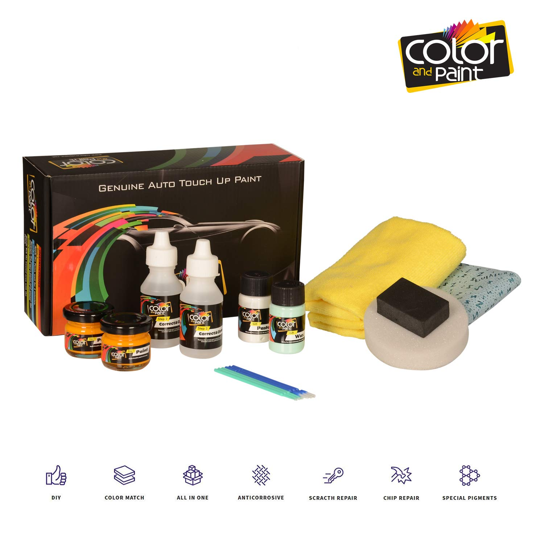 プジョーイオン/色andペイントタッチアップペイントシステムペイントチップスクラッチ PRO CARE CP-PGT-02296 B06Y4W9JFV JAUNE SOLEIL - Y21 PRO CARE
