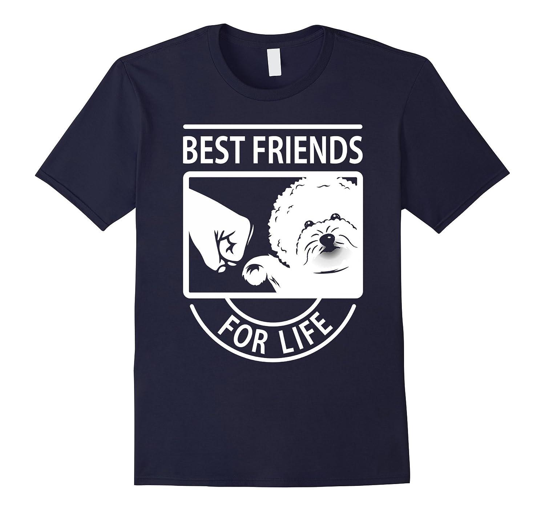 Bichon Frise Best Friend For Life T-shirt-Art