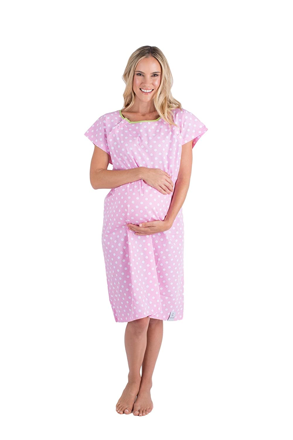 Baby Be Mine Gownies Labor /& Delivery Maternity Hospital Gown Maternity Hospital Bag Must Have Best