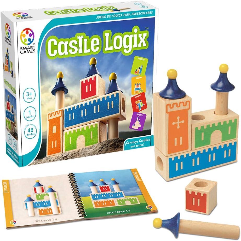 Smart Games-Castle Logix (Madera): Amazon.es: Juguetes y juegos