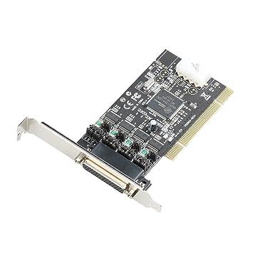 I-Tec - Tarjeta PCI POS (4 puertos serie RS232, 5 V/12 V ...