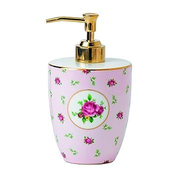 Royal Albert ROALGW25829 - Dispensador de loción y de jabón, color rosa: Amazon.es: Hogar