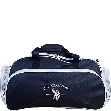 cfb9441eaa3 Amazon.com | U.S. Polo Assn. Nylon Duffel Bag, U-Shape Opening ...