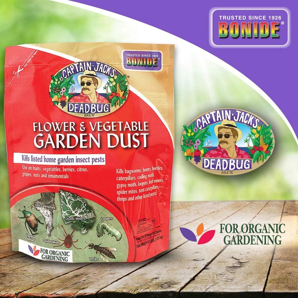 Bonide Chemical 258 Number-4 Captain Jack Dead Bug Dust, 4 lb