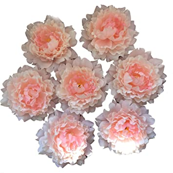 Amazon Fanflona Wholesale Silk Flowers Artificial Peony Flower