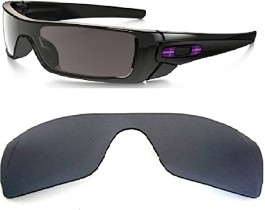 Galaxy Replacement Lenses For Oakley Batwolf Sunglasses Black Polarized,100% UVAB