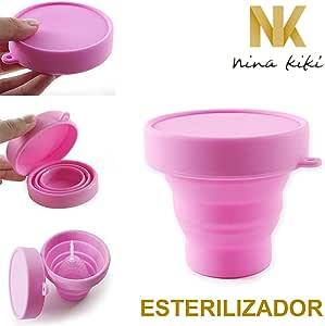 NINA KIKÍ Cup STERILIZER: Amazon.es: Electrónica