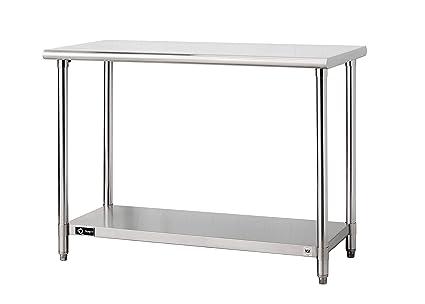 Amazon Com Trinity Ecostorage 48 Nsf Stainless Steel Prep Table