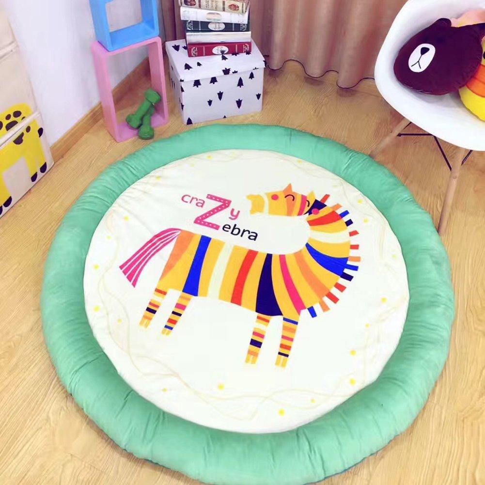 dream_home Zebra Baby Play Mat Toys - Floor Mats Non Toxic Girl Gym Carpet Cotton Infant One Piece