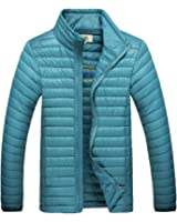 Micmall Men's Lightweight Down Packable Puffer Jacket